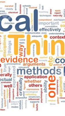 Complexity and clarity: why critical thinking is essential