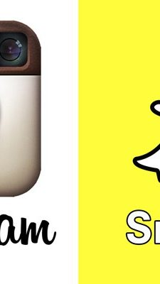 Social-media smackdown: Snapchat and Instagram and Facebook, oh my!